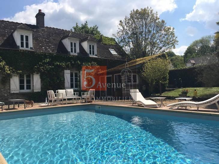 Maison bois 70m2 piscine immofavoris for Piscine bois 4x8