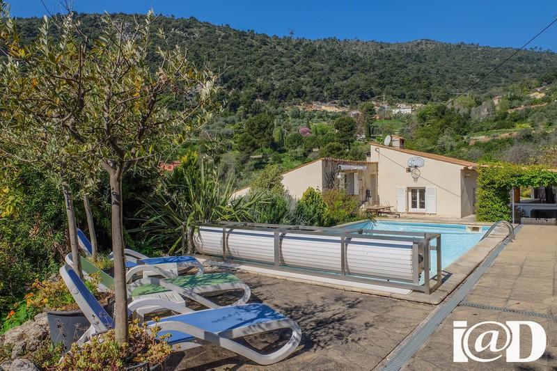 Maison nice colomars piscine immofavoris - Piscine pente terrain nice ...
