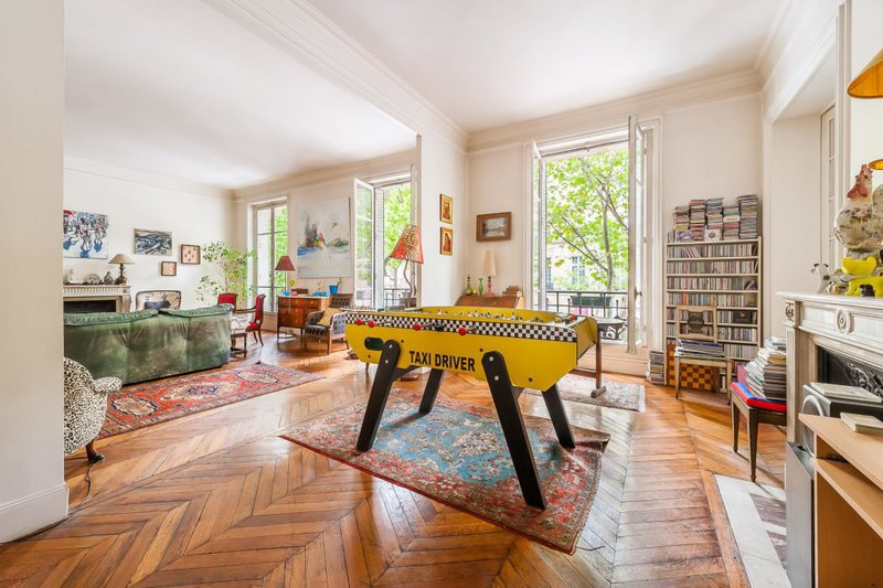 appartement 2 pieces paris parc monceau immofavoris. Black Bedroom Furniture Sets. Home Design Ideas