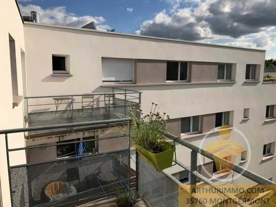 Appartement 2 chambres centre rennes balcon immofavoris for Ad garage rennes