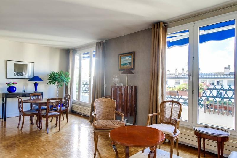Appartement 2 pieces jardin paris 16 immofavoris for Appartement paris jardin