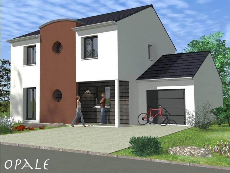 Modele maison neuve garage immofavoris for Modele maison neuve