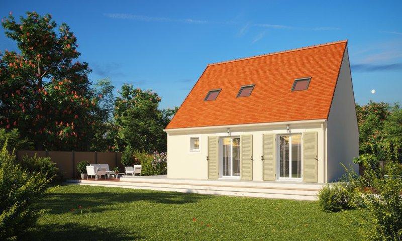 Plan maison une chambre rdc immofavoris for Maison neuve pour 80000 euros