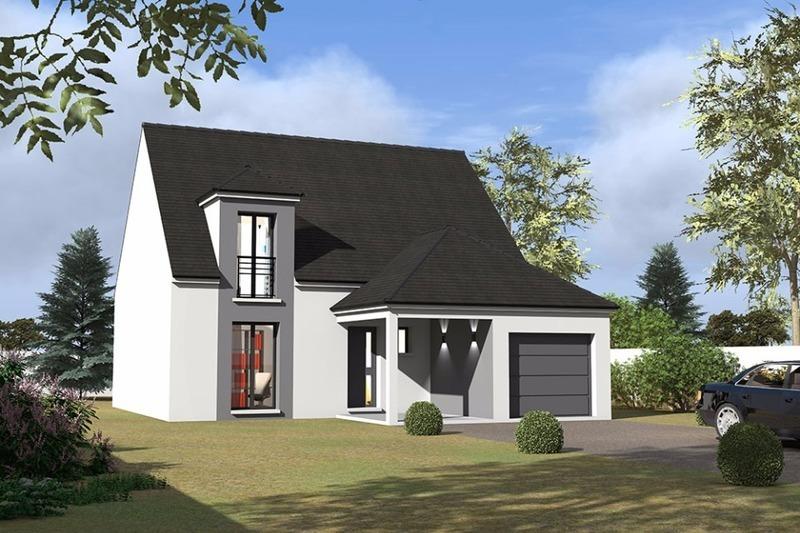 Construire maison 2 etage une facade immofavoris for Construire une maison 5 chambres