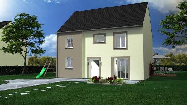 construction maison petite facade immofavoris. Black Bedroom Furniture Sets. Home Design Ideas